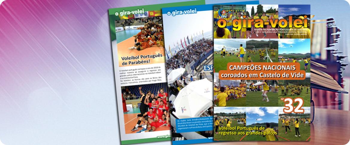 """Revista """"O Gira-Volei"""""""